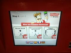 spandoekautomaat (thieubob) Tags: holland amsterdam nederland thenetherlands schiphol arrivals automaat aankomst arrivals2 aankomsthal2 spandoekautomaat welkomterug
