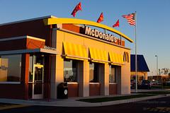 new McDonald's on opening day (ezeiza) Tags: food oklahoma sign restaurant drive golden fastfood fast arches mcdonalds drivethru through ok drivethrough goldenarches thru glenpool