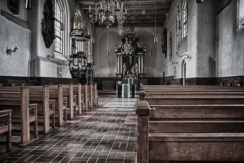 Holz Stein und Altar