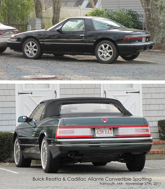 classic cars ma gm convertible 1993 falmouth rare coupe pininfarina generalmotors northstar buickreatta cadillacallanté