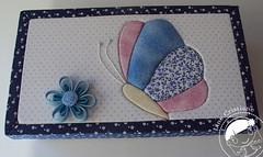 Borboleta em patchwork Embutido (Line Artesanatos) Tags: patchembutido patchworkembutido