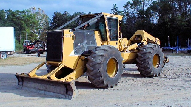 2007 Tigercat 620C Skidder for Sale at Forestry First 003