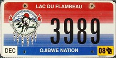 Lac Du Flambeau Ojibwe Nation Flat License Plate (Suko's License Plates) Tags: plaque native indian nation band plate tribal licenseplate license tribe veteran placa patente targa matricula kennzeichen lacduflambeau ojibwe targhe numbertag nummerschild plaqueimmatriculation triballicenseplates indiantribeslicenseplates lacduflambeauojibwe