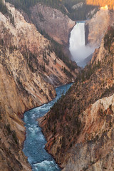 Lower Yellowstone Falls (John Cothron) Tags: nature water creek river waterfall stream outdoor yellowstonenationalpark flowing yellowstoneriver freshwater artistpoint grandcanyonoftheyellowstone eastrim loweryellowstonefalls johncothron cothronphotography