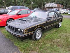 1983 Mercury Capri (splattergraphics) Tags: capri mercury 1983 carlisle carshow carlislepa blackmagic fallcarlisle