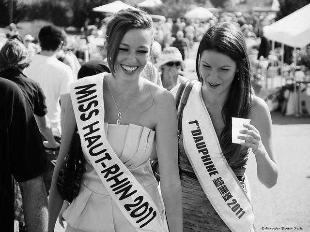 Miss France 2012, DELPHINE WESPISER et Anne-Laure Wietrich