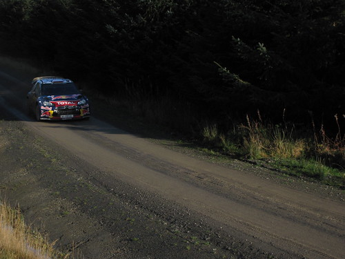 Sebastien Loeb Rally GB 2011 Hafren