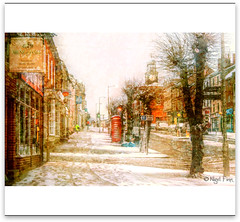 Let It Snow (Manin The Moon) Tags: christmas winter snow town mayor card dorset greetings bridport weststreet davidrickard