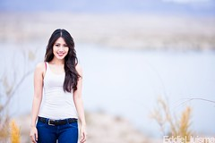 Charmaine (Eddie 11uisma) Tags: las vegas light portrait lake 3 canon is natural explore l mead lightroom 200mm f20