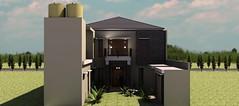 Desain rumah modern minimalis di daerah Rawamangun4 (rumahdesain2000) Tags: jakarta minimalis elegan mushola batualam preliminarydesign rumahibadah 2lantai projectlists