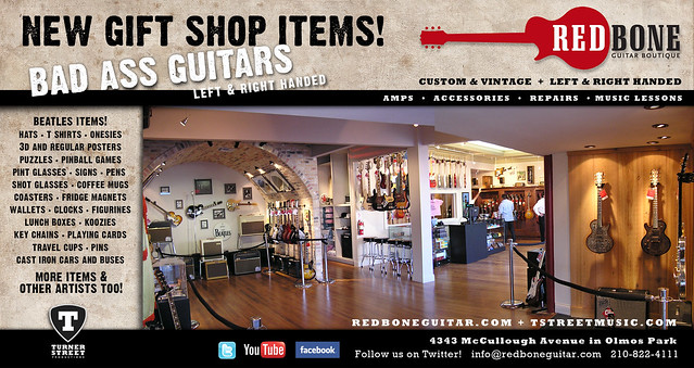 Redbone Guitar Boutique: Beatles Swag Headquarters!