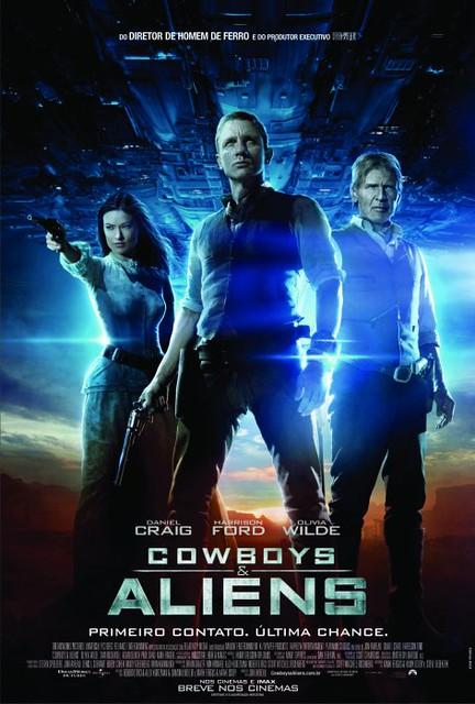 Filme : Cowboys & Aliens Capa Poster 73 -Ação Bons Filmes Online