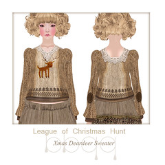 League of Christmas Hunt-*bbqq* (omiluo [*bbqq*]) Tags: christmas secondlife league hunt