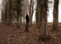 anywhere but here. (Shana Carrara) Tags: wood man solitude meditation breathe riccardo bosco respira