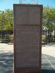 Oklahoma City Oil Field, Oklahoma City, Oklahoma Historical Marker (fables98) Tags: oklahoma historic oklahomacity statecapitol oilfield oklahomastatecapitol oklahomacounty oklahomahistoricalmarker oklahomacityoilfield