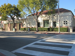 South Pasadena City Hall's crosswalk (ubrayj02) Tags: bike bicycle gold bicycling la flying losangeles los woods metro angeles pigeon south bikes line bicycles biking mission mta pasadena dennis goldline fiets lanes busters southpasadena elcentro bikelanes flyingpigeon streetsblog 91030 flyingpigeonla flyingpigeonlacom denniswoods
