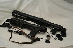 Two Gun Novoflex (Photomino) Tags: lens tele manual novoflex 400mm 600mm novoflexar