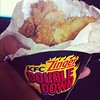 Lets eat ZINGER DOUBLE DOWN..
