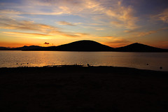 Isla del Ciervo (marathoniano) Tags: city sunset espaa naturaleza art nature landscape island see mar spain europa europe village arte ciudad paisaje villa urbano lamanga marmenor espagne cartagena isla mediterrneo menor illa ciervo atardeder marathoniano isladelciervo ramnsobrinotorrens