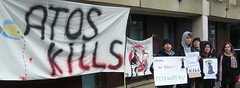 ATOS PROTEST BY ECAP