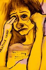 Yes, What About Abortion (Thomas Hawk) Tags: usa chicago yellow museum painting illinois unitedstates unitedstatesofamerica artinstituteofchicago artinstitute cookcounty chicagoland chicagoartinstitute windycity artinstitutechicago