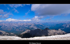 Mt. Borgeau Summit (bk.dogge (World Cup and Wimbledon)) Tags: park sky canada mountains clouds landscape rockies nikon view pass rocky canadian hike national backpacking alberta harvey summit banff dslr d300 borgeau mtborgeau