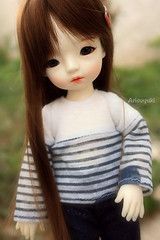 Brown haired (Arisuyuki) Tags: doll bjd dollmore yosd babylambmiadoll miasbabydollaga daitsumi