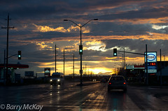 Winter Sunset (Franky2step) Tags: street sky ontario weather