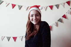 (Cat Lane Photographer) Tags: christmas red green hat photographer cheesy bunting christmasportrait catlane dismantlerepair