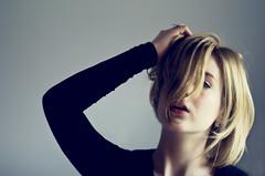 Let me live (Kaat dg) Tags: light portrait girl self hair nikon d5100