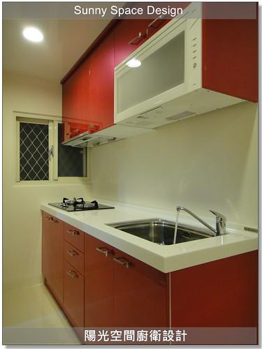 新莊豐年街陳小姐火紅廚具組-陽光空間廚衛設計12