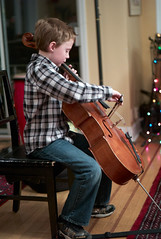 Cello (peter.a.klein (Boulanger-Croissant)) Tags: christmas boy music cello classical baroque vivaldi