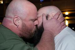 Bearfest-4512 (Mike WMB) Tags: bear beard cub ginger kiss 2011 bearfest