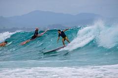 Surfing The Pass (Deb Jones1) Tags: ocean travel people beach water sport bay surf waves action surfer australia places surfing explore byron byronbay thepass byronshire flickrduel debjones1