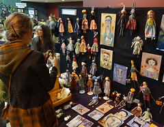 dollcraft (zen) Tags: downtown dolls crafts arts craft packplace zensutherland ashevilleartmuseum thebigcrafty bigcrafty 20111204