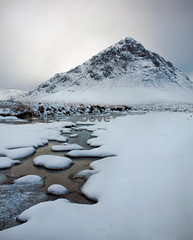Happy 2012 (Dove*) Tags: winter cloud white mountain snow cold ice river scotland isolation buachailleetivemor