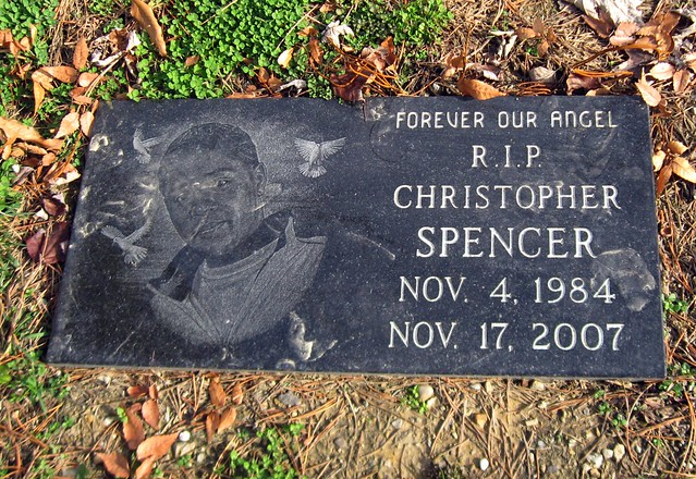 Grave of Christopher Spencer