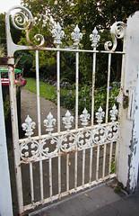 A Little Rusty (Jocey K) Tags: wood old newzealand christchurch garden gate path rusty bin iorn