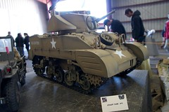 Military Vehicle Technology Foundation 12-2011 (daver6sf@yahoo.com) Tags: model tank wwii militaryvehicle ussiowa militaryvehicletechnologyfoundation portofrichmond stuarttank