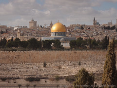 Mount of Olives, Jerusalem (Towards West)