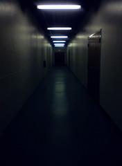 . (gone girl [ negative-nowhere ]) Tags: work dark hallway thedungeon negative1 nokia6350