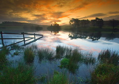 Just Before Sunrise (PeterYoung1) Tags: clouds reflections scotland colours scenic wow1 wow2 wow3