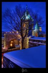 Porte St-Louis Gate (jean271972) Tags: city winter canada night gate quebec hiver bluehour nuit hdr ville villedequbec heurebleue portestlouis capitalenationale mygearandme mygearandmepremium flickrstruereflection1 flickrstruereflection2 jean271972