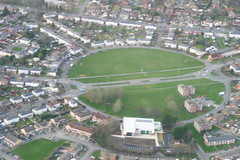 Pinehurst Circle 7/1/12 (Got A Life) Tags: circle swindon aerialview pinehurst aerialphotographs aerialphotos