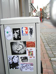 The Noises (Question Josh? - SB/DSK) Tags: streetart sticker stickerart stickers josh question uwp freaq questionjosh