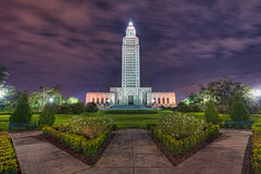 Louisiana State Capital (todd landry photography) Tags: building architecture rouge nikon louisiana state capital baton hdr d700