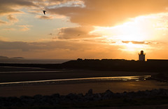 Late afternoon at Burry Port (EionaR. [busier than ever]) Tags: wales carmarthenshire skies sunsets wfc coasts burryport