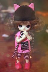I  little obitsu (Amarie Photography ) Tags: cute outfit doll noir little version dal mini f