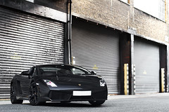 Back Street Bull (Alex Penfold) Tags: auto camera black london cars alex sports car sport mobile canon out photography eos photo cool alley flickr photoshoot image awesome flash central picture super spot exotic photograph lp spotted hyper lamborghini coupe supercar spotting exotica gallardo sportscar 2012 sportscars supercars lambo penfold 560 blacked spotter hypercar 60d hypercars lp560 alexpenfold
