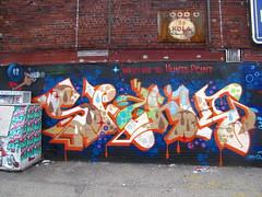 Shank (soulroach) Tags: nyc ny graffiti bronx ps shank dmote welcometohuntspoint